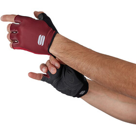 Sportful Race Gloves, red wine